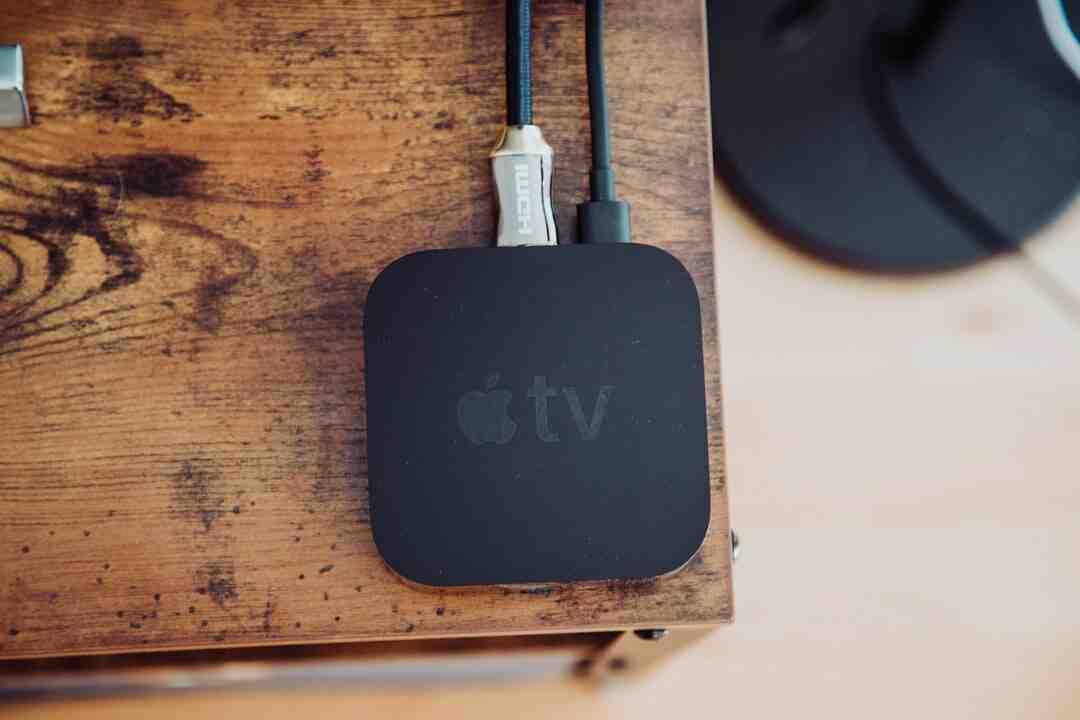 Comment avoir apple tv